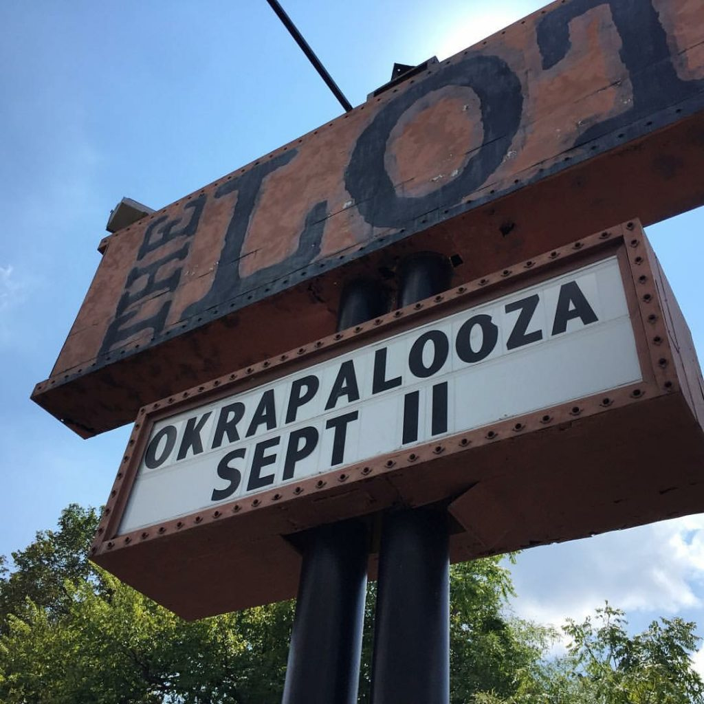 The Lot hosted Okrapalooza