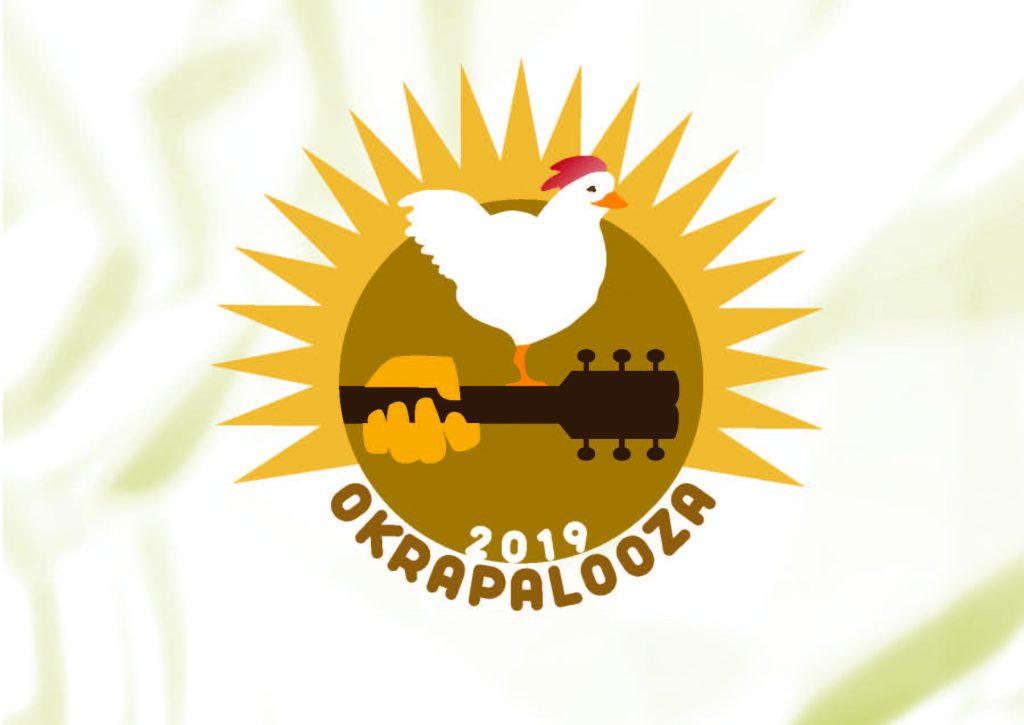 Okrapalooza 2019 logo